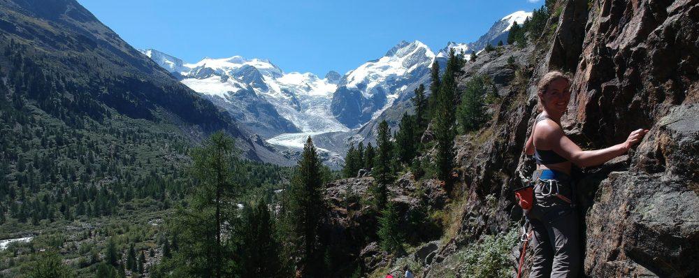 Karin klimt in Alpen